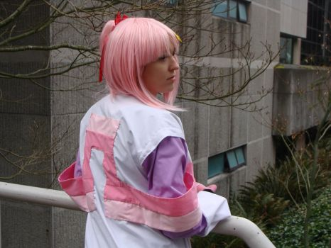Lacus Clyne behind view by White-Sephira