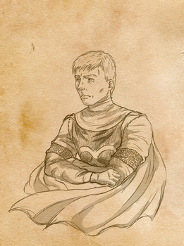 Gift: Benedict Emrys by SketchyBailey