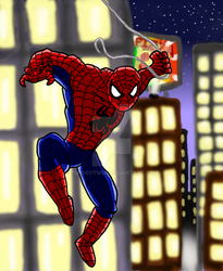 Spider-man by TwiggyTwix