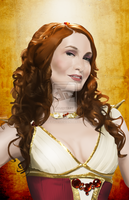 Wonder Geeks Activate! Felicia day as Codex by HueTwo
