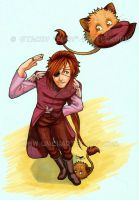 Townsen's Hat Thief by algy