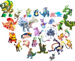 Daily Pokemon Doodles: December 2015 by DoctorNuclear