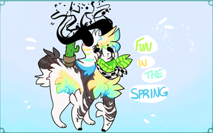 [SANDHORN SHEEP] FUN IN THE SPRING [CLOSED] by knife-wife