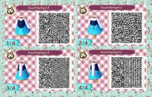 Animal crossing: new leaf QR (Ariel cosplay) by Rasberry-Jam-Heaven