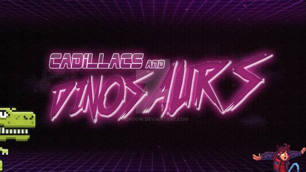 Cadillacs and Dinosaurs Glassesless by Nekoow