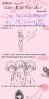 Crappy Ouran HSHC Meme xD by corinnelovesyoux