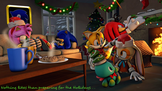 Preparing for the Holidays by G-ManMobius