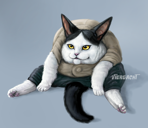When People Tell Me To Sit Like a Lady by Viergacht