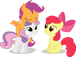 CMC BFF's Vector by simplyFeatherbrain