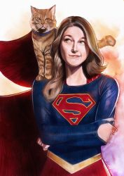 Supergirl by wallacedestiny