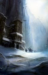 A song of fire and ice, wall by MarcSimonetti