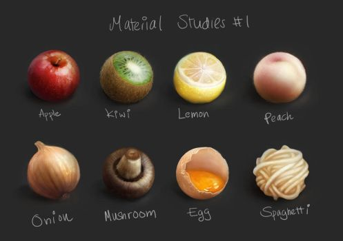 Material Studies #1 by suetabulous