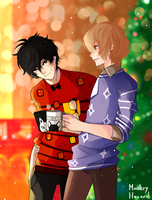 Akeshu secret santa by MonkeyHazard