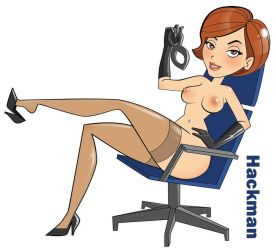 Helen parr  elastagirl pin up by Hackman23