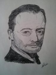 Jean Reno by LoiseFenollCreation