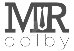 MRcolby Logo/Watermark Commission by admx
