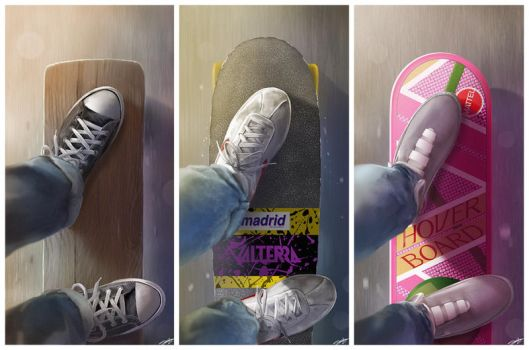 BTTF Decks set by AndyFairhurst