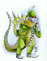 Gigan by IndecisiveDevice