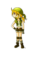 Metal Slug project: Eri by JoTheWeirdo