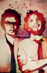Flight of the Conchords by HuggleMistress
