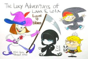 The Lucy Adventures of Lana and Lola by komi114