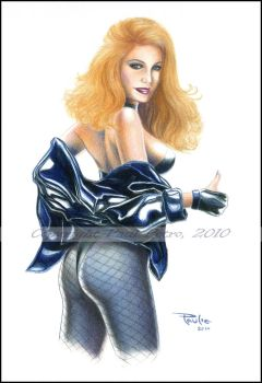 Black Canary - in color by Artman2112