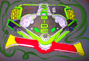 Robot Wars Series 10 CARBIDE with new blade.(2.5) by sgtjack2016