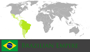 Greater Brazilian Empire by PrussianInk