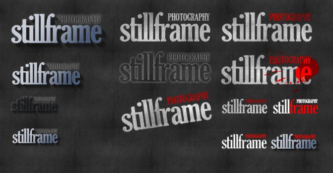 Stillframe Logo Design by livestate
