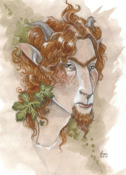 Freckled Faun by liselotte-eriksson