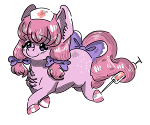 Chibi doctor Cotton Candy is here! by KonpeitoStudio