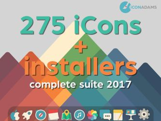 Complet Suite iConadams 2017 by valvator