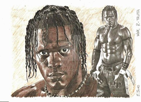 WWE R-Truth by eazy101
