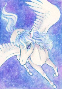 ACEO 006 - Pegasus by starca