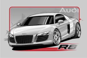 Audi R8 by Bmart333