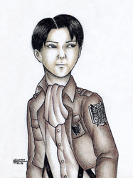 [SnK] Levi: no regrets. by artistang-kamote12