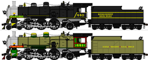 Mesa Desert Class 440 Nos. 440 and 441 FINISHED by omega-steam
