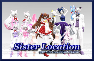 FNAF Sister Location New DL by White-Hu