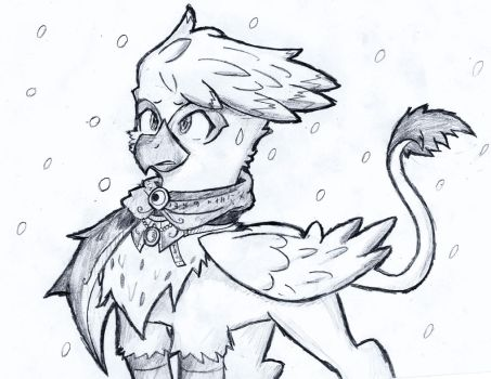 Cinnabrin The Snow Griffon by MrFulp