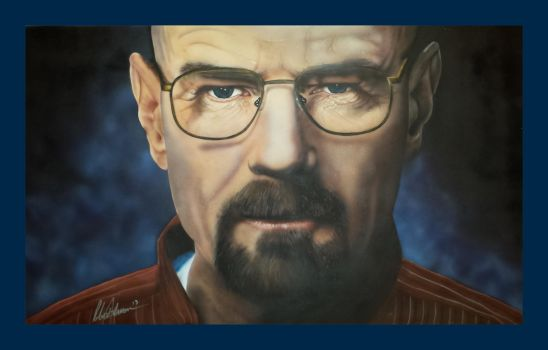 Walter White by dvncarts