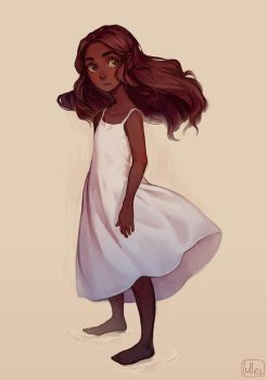 Girl by lulles