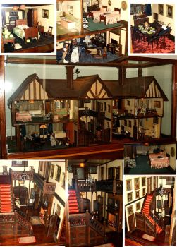 Victorian Dolls House by Forestina-Fotos