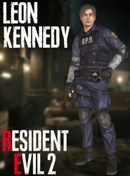 Leon Kennedy - RE2:Remake - XPS by xZombieAlix