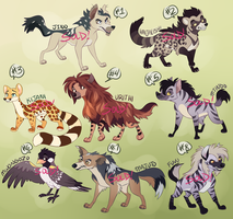 TLK Adoptables Batch 3 [SOLD] by Machati