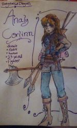 Analy Corlinn, my Dungeons and Dragons Character by Devious-dolly