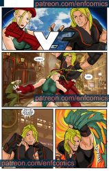 Ken vs Cammy ENF Comics page 1 by TheRafaLee