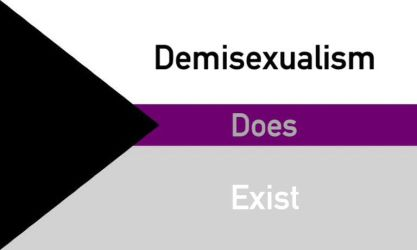 Demisexuality is Real by AoiDayoZoi