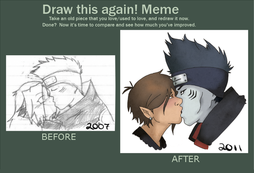 Before-After Meme by kumori-no-carlie
