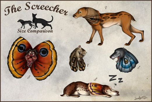 Original Species: The Screecher by Thilil