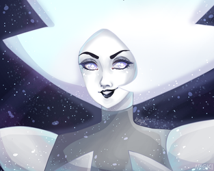 White diamond by ASttefany